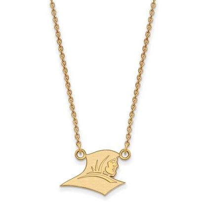 Picture of Providence College Friars Sterling Silver Gold Plated Small Necklace