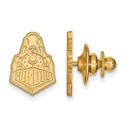 Picture of Purdue University Boilermakers Sterling Silver Gold Plated Lapel Pin