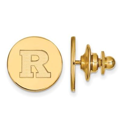 Picture of Rutgers University Scarlet Knights Sterling Silver Gold Plated Lapel Pin