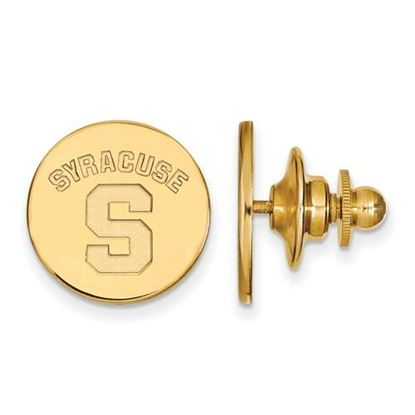 Picture of Syracuse University Orange Sterling Silver Gold Plated Lapel Pin