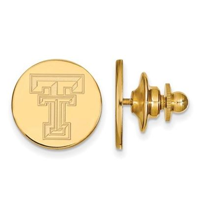 Picture of Texas Tech University Red Raiders Sterling Silver Gold Plated Lapel Pin