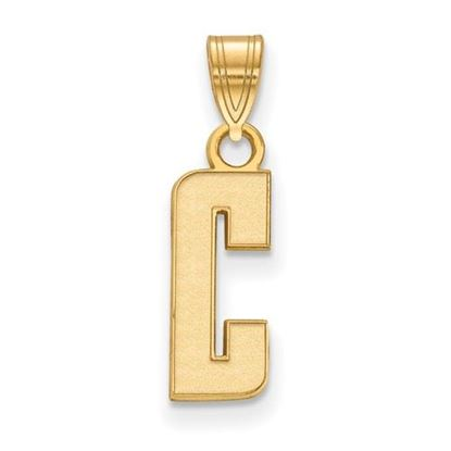 Picture of University of California Berkeley Golden Bears Sterling Silver Gold Plated Small Pendant