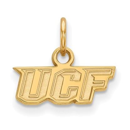 Picture of University of Central Florida Knights Sterling Silver Gold Plated Extra Small Pendant