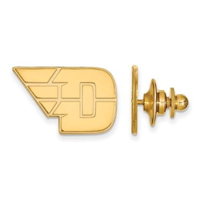 Picture of University of Dayton Flyers Sterling Silver Gold Plated Lapel Pin