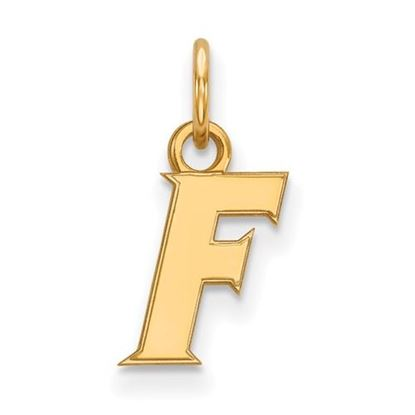 Picture of University of Florida Gators Sterling Silver Gold Plated Extra Small Pendant