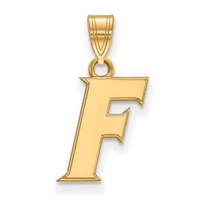 Picture of University of Florida Gators Sterling Silver Gold Plated Small Pendant