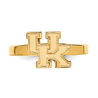 Picture of University of Kentucky Wildcats Gold Plated UK Toe Ring