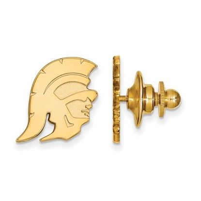 Picture of University of Southern California Trojans Sterling Silver Gold Plated Lapel Pin