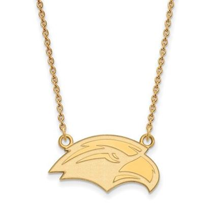 Picture of University of Southern Mississippi Golden Eagles Sterling Silver Gold Plated Small Necklace