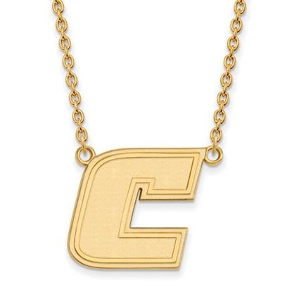 Picture of University of Tennessee at Chattanooga Mocs Sterling Silver Gold Plated Large Necklace