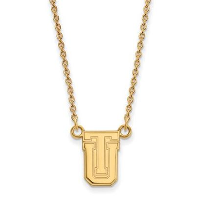 Picture of University of Tulsa Golden Hurricanes Sterling Silver Gold Plated Small Necklace