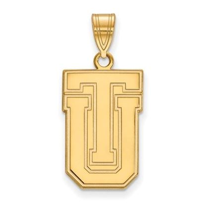 Picture of University of Tulsa Golden Hurricanes Sterling Silver Gold Plated Large Pendant