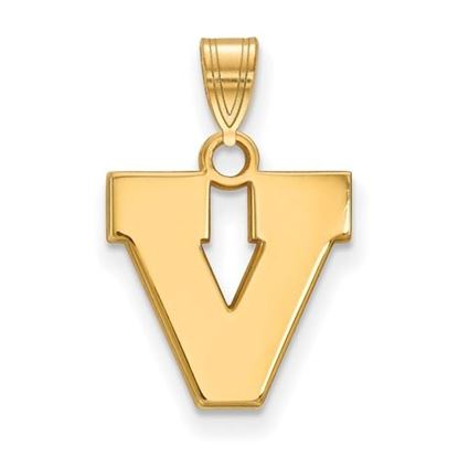 Picture of University of Virginia Cavaliers Sterling Silver Gold Plated Small Pendant