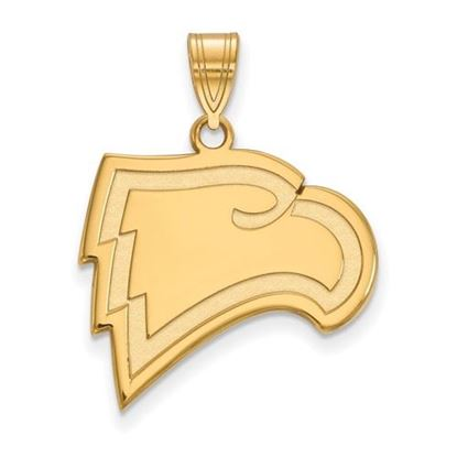 Picture of Winthrop University Eagles Sterling Silver Gold Plated Large Pendant
