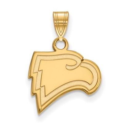 Picture of Winthrop University Eagles Sterling Silver Gold Plated Small Pendant
