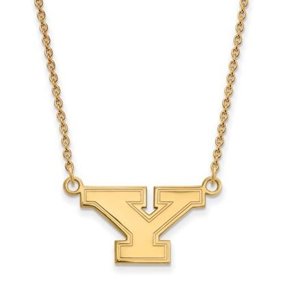 Picture of Youngstown State University Penguins Sterling Silver Gold Plated Small Necklace
