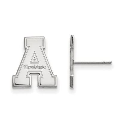 Picture of Appalachian State University Mountaineers Sterling Silver Small Post Earrings