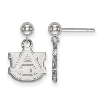 Picture of Auburn University Tigers Sterling Silver Dangle Earrings