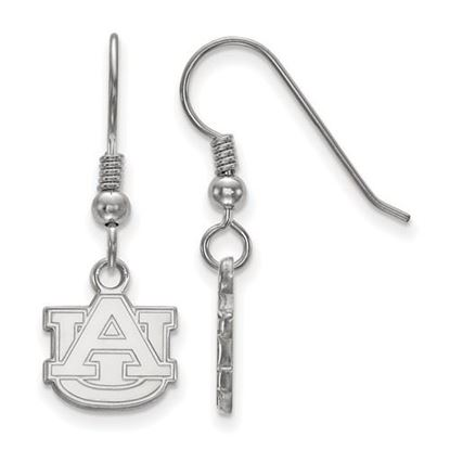 Picture of Auburn University Tigers Sterling Silver Extra Small Dangle Earrings
