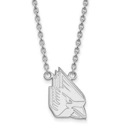 Picture of Ball State University Cardinals Sterling Silver Large Necklace