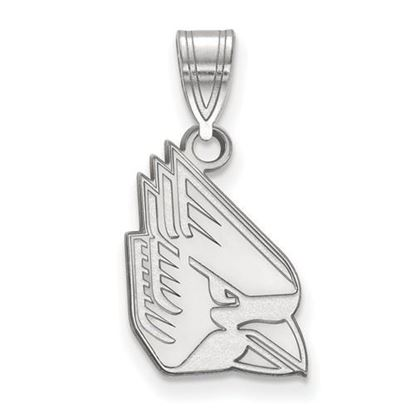 Picture of Ball State University Cardinals Sterling Silver Medium Pendant