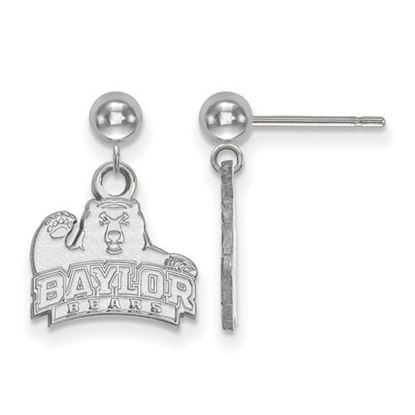 Picture of Baylor University Bears Sterling Silver Dangle Earrings