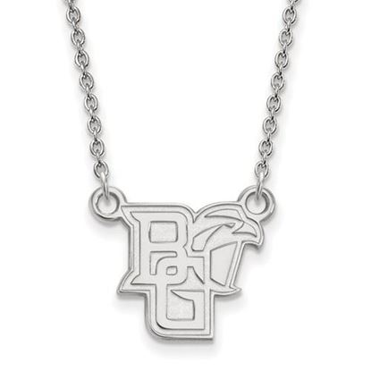 Picture of Bowling Green State University Falcons Sterling Silver Small Necklace