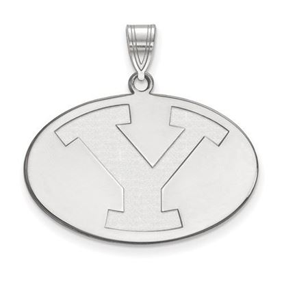 Picture of Brigham Young University Cougars 14k Sterling Silver Large Pendant