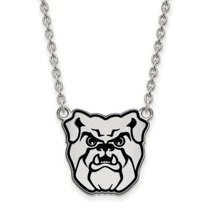 Picture of Butler University Bulldogs Sterling Silver Enameled Large Necklace
