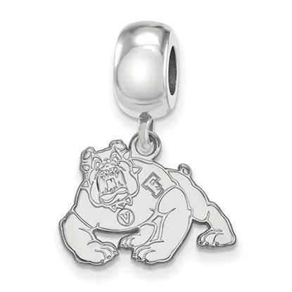 Picture of California State University Fresno Bulldogs Sterling Silver Sm Bead Charm