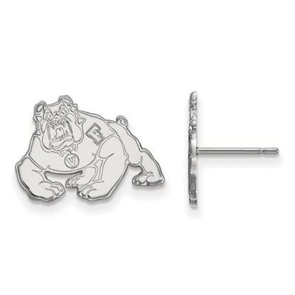 Picture of California State University Fresno Bulldogs Sterling Silver Small Post Earrings