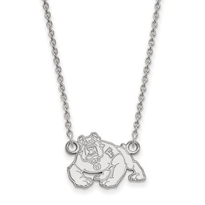 Picture of California State University Fresno Bulldogs Sterling Silver Small Necklace
