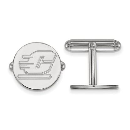 Picture of Central Michigan University Chippewas Sterling Silver Cuff Links