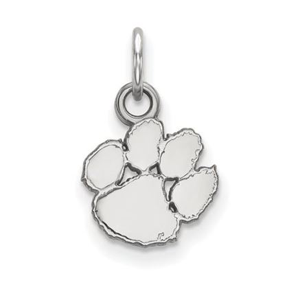 Picture of Clemson University Tigers Sterling Silver Extra Small Pendant