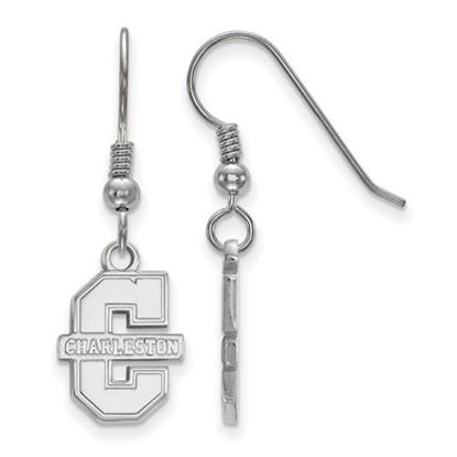 Picture of College of Charleston Cougars Sterling Silver Small Dangle Earrings