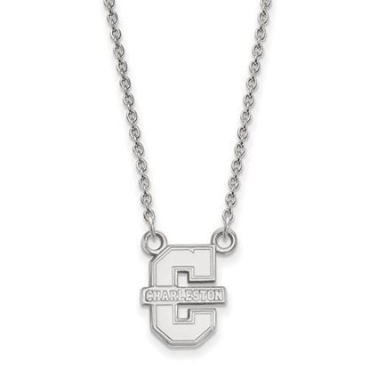 Picture of College of Charleston Cougars Sterling Silver Small Necklace