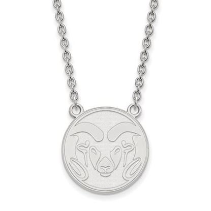 Picture of Colorado State University Rams Sterling Silver Large Necklace