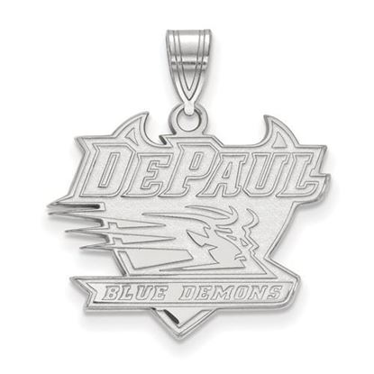 Picture of DePaul University Blue Demons Sterling Silver Large Pendant