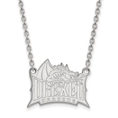 Picture of Drexel University Dragons Sterling Silver Large Necklace