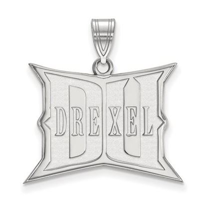 Picture of Drexel University Dragons Sterling Silver Large Pendant