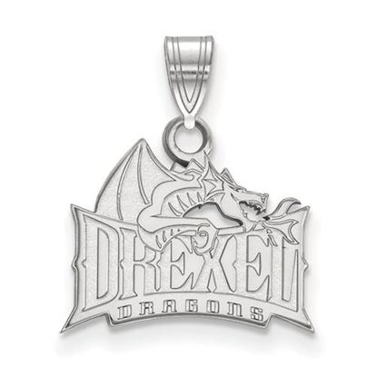 Picture of Drexel University Dragons Sterling Silver Small Pendant
