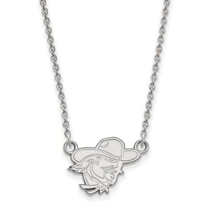 Picture of Eastern Kentucky University Pirates Sterling Silver Small Necklace