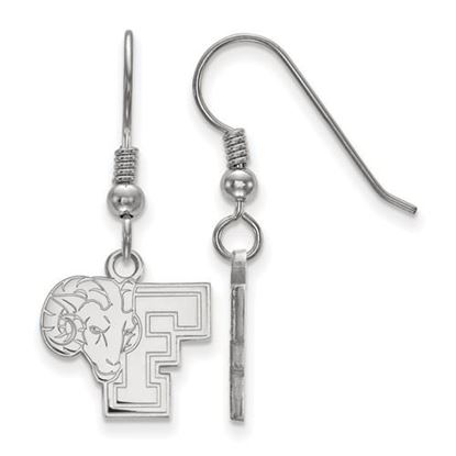 Picture of Fordham University Rams Sterling Silver Small Dangle Earrings