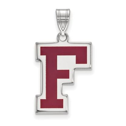 Picture of Fordham University Rams Sterling Silver Enameled Large Pendant