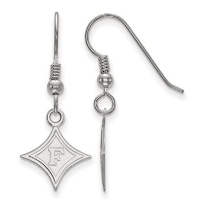 Picture of Furman University Paladins Sterling Silver Small Dangle Earrings