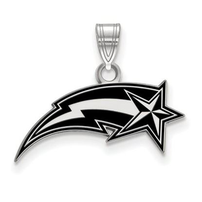 Picture of George Mason University Patriots Sterling Silver Small Enameled Pendant