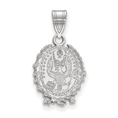 Picture of Georgetown University Hoyas Sterling Silver Medium Crest Pendant