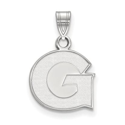 Picture of Georgetown University Hoyas Sterling Silver Small Pendant