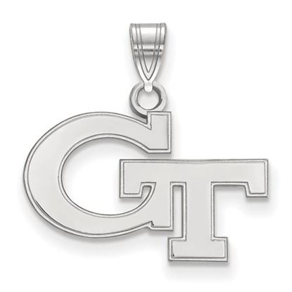 Picture of Georgia Tech Yellow Jackets Sterling Silver Small Pendant