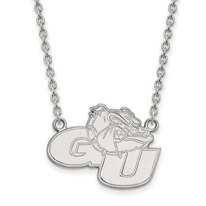 Picture of Gonzaga University Bulldogs Sterling Silver Large Necklace
